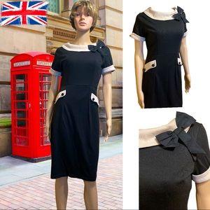 LINDY BOP RETRO PENCIL WIGGLE 1950'S DRESS